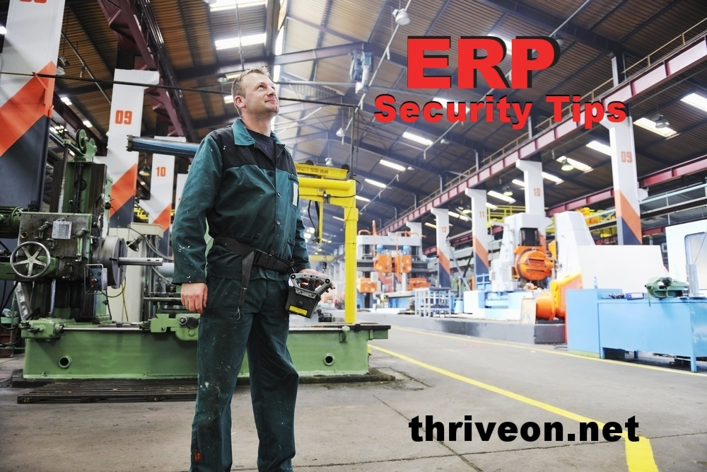 ERP Security and Support for Manufacturing Companies