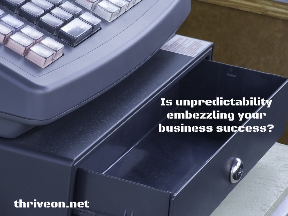 How Unpredictability Embezzles Your Business Success