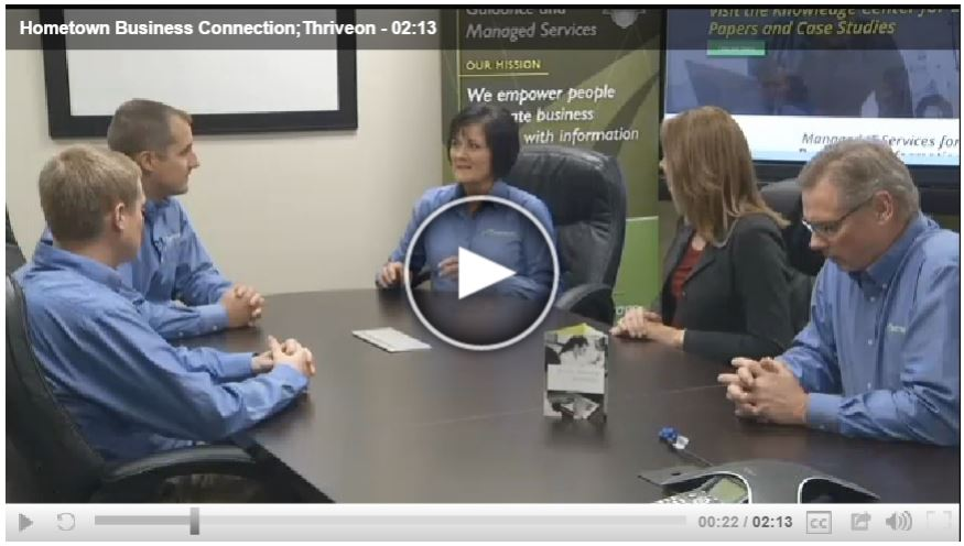 Thriveon Featured on KEYC TV Hometown Business Connection